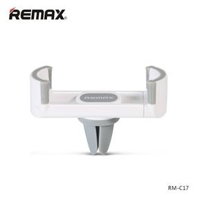 REMAX RM-C17 Cone Clip Car Phone Holder-White+Grey