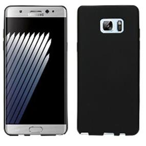 Black gel skin case for the Samsung Note 7