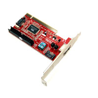 Bytecc BT-PSAPA SATA Controller Card PCI Connection W/e-SATA+SATA+IDE Ports