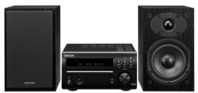 Denon 2.0 Personal Audio/Micro System with Speakers
