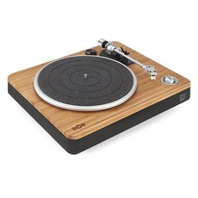 House of Marley Stir It Up Turntable - Bamboo/Black