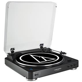 Audio-Technica AT-LP60BK - Fully Automatic Belt-Drive Turntable