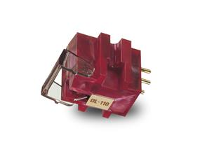 Denon DL110 High Output Moving Coil Cartridge - Red