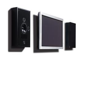 PMC Wafer In wall / On wall Speaker (Piece) - Black Satin