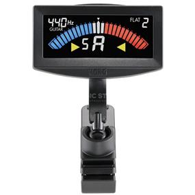 KORG PitchCrow-G - Clip-On Tuner for Guitar/Bass (Black)