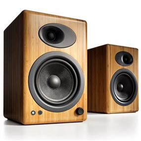 Audioengine A5+, Premium Powered Bookshelf Speakers (Pair/Bamboo) ** Top Seller. Ask for more details regarding available promotion. **
