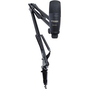 Marantz Professional Pod Pack 1 - USB Microphone with Broadcast Stand & Cable Kit