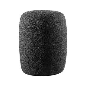 Audio-Technica AT8101 Cylindrical Foam Windscreen (Black)