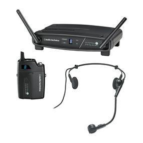 Audio-Technica ATW-1101/H System 10 Digital Wireless Headworn Dynamic Microphone Set