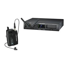 Audio-Technica ATW-1301L System 10 PRO Rack-Mount Digital Lavalier Mic System (2.4 GHz)