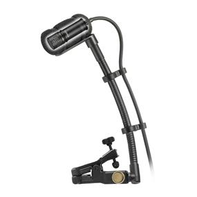 Audio-Technica Wireless Cardioid Condenser Instrument Microphone - With Universal Clip-On Mounting System