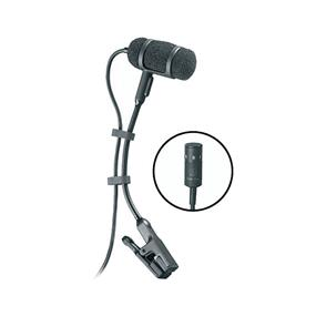 Audio-Technica Pro-35cW Cardioid Clip-On Microphone with AT8418 Clip-On Instrument Mount