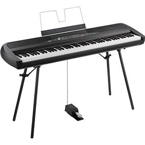 Korg SP-280 Black - Portable Digital Piano