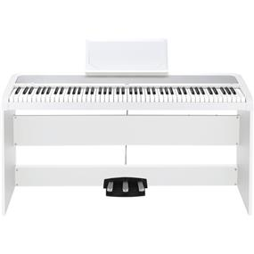 Korg B1SP - Digital Piano with Stand and Pedalboard White