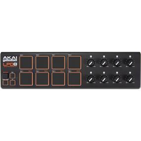 Akai Professional LPD8 Wireless - Bluetooth MIDI Pad Controller