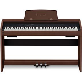 Casio PX-760 Privia 88-Key Digital Piano (Brown)