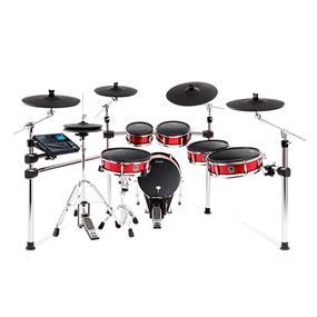 Alesis Strike Pro Drum Kit, 11-Piece Professional Electronic Drum Kit with Mesh Heads