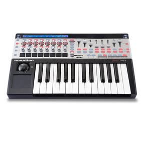 Novation SL 25 MKII USB MIDI Keyboard Controller (25 keys)