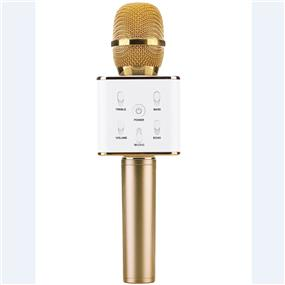 TOSING Q7 bluetooth speaker & microphone (White/Golden)