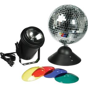 ADJ MB-8 Instant Mirror Ball Package