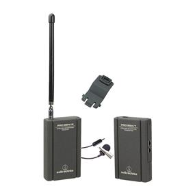 Audio-Technica PRO 88W-829 Camera Mountable VHF Lavalier Pro 88W VHF Wireless System