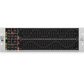 Behringer Ultragraph Pro FBQ6200HD - High-Definition 31-Band Stereo Graphic Equalizer with FBQ Feedback Detection System