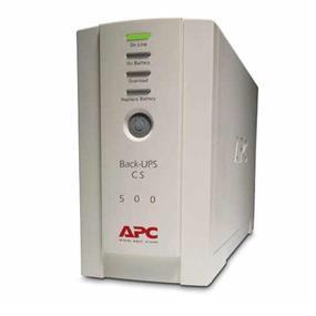 APC BACK-UPS CS 500VA 120V UPS - 300 Watt (White)