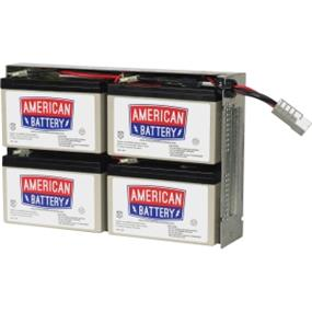 ABC Replacement Battery Cartridge #24 - RBC24 - made by American Battery