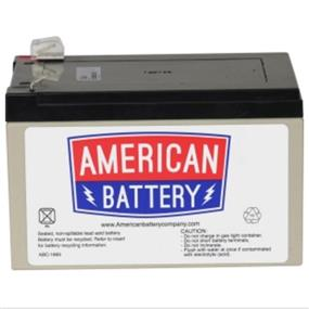 ABC Replacement Battery Cartridge #4 - Maintenance-free Lead Acid Hot-swappable BATTERY RBC4
