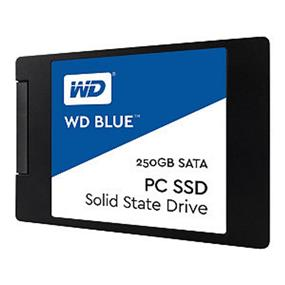WD Blue 250GB Internal SSD Solid State Drive - SATA 6Gb/s 2.5 Inch (WDS250G1B0A)