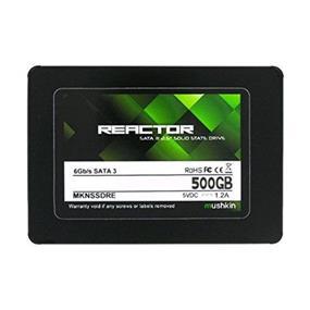 """Mushkin Reactor 500GB 2.5"""" SATA III Max Seq.Read:550MB/s, Max Seq.Write: 435MB/s Internal Solid State Drive (SSD) (MKNSSDRE500GB)"""