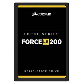 "Corsair Force Series LE200 2.5"" 240GB SATA 6Gb/s Solid State Drive (SSD), Max.Read: 560MB/s, Max.Write: 530MB/s (CSSD-F240GBLE200B)"