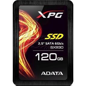 """ADATA SX930 120GB 2.5"""" SATA Solid State Drive (SSD) (ASX930SS3-120GM-C)"""