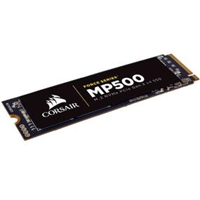 Corsair Force Series MP500 480GB M.2 NVMe PCIe SSD, ATTO Seq Read: 3,000MB/s, ATTO Seq Write: 2,400MB/s (CSSD-F480GBMP500)