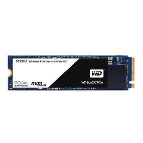 WD Black PCIe Gen3 x4 NVMe M.2 2280 512GB Read:2050 Mb/s,Write: 800 MB/s SSD (WDS512G1X0C)