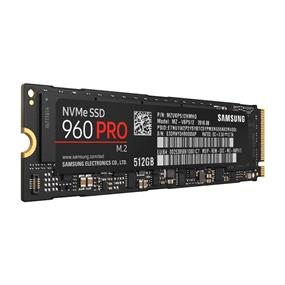 Samsung 960 Pro M.2 NVMe PCI-E 512GB Solid State Drive, Read:3,500 MB/s, Write:2,100 MB/s (MZ-V6P512BW)