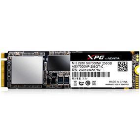 ADATA XPG SX7000 M.2 2280 256GB PCIe Gen3x4 SSD (ASX7000NP-256GT-C)