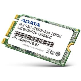 ADATA S600 M.2 2242 128GB SATAIII Solid State Drive (ASP600NS34-128GM-C)