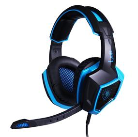 SADES Luna 7.1 Simulated Surround Sound PC PRO GAMING HEADSET with Microphone,Cool LED Lights [SA-968]
