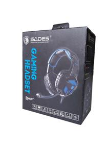 SADES Bpower Stereo 2.0 Multi-platform Headset (Blue)