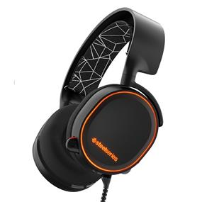 SteelSeries Arctis 5 Gaming Headset with RGB Illumination and DTS Headphone - Black (61443)