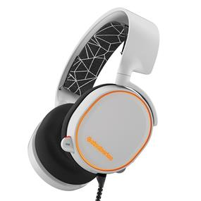 SteelSeries Arctis 5 Gaming Headset with RGB Illumination and DTS Headphone 7.1 Surround Sound - White (61444)
