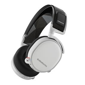 SteelSeries Arctis 7 Wireless Gaming Headset with DTS Headphone 7.1 Surround Sound - White (61464)