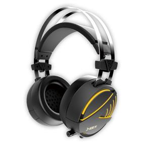 GAMDIAS HEBE M1 RGB Circumaural Gaming Headset Virtual 7.1 Surround Sound EQ Adjustment  Vibration Control (HEBE M1)