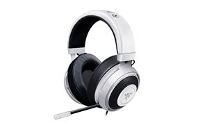 Razer Kraken Pro V2 – Analog Gaming Headset – White – Oval Ear Cushions – NASA (RZ04-02050500-R3U1)