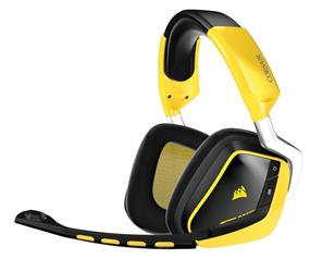 Corsair Gaming VOID Wireless Gaming Headset – Special Edition – Yellow Jacket (CA-9011135-NA)