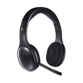 Logitech H800 Wireless Headset - 2.4GHz Wireless Technology, Bluetooth, Rechargeable Battery (P)  (981-000337)