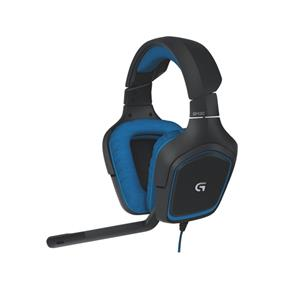 Logitech G430 Surround Sound Gaming Headset - Black and Blue (A) (981-000536)