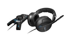 ROCCAT Kave XTD 5.1 Digital - Premium 5.1 Surround Gaming Headset w/ USB Remote & Sound Card - Black (Retail Box) (ROC-14-160) (S)