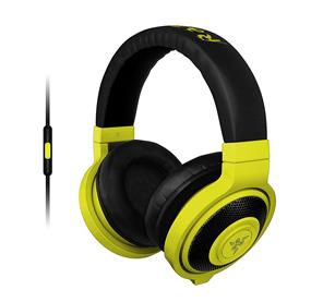 Razer Kraken Mobile Analog Music & Gaming Headset-Neon Yellow  (RZ04-01400200-R3U1)